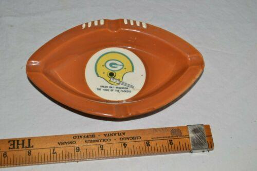 Green Bay Packers Vintage Ashtray Lombardi Ash Tray Football Lambeau Field 60s