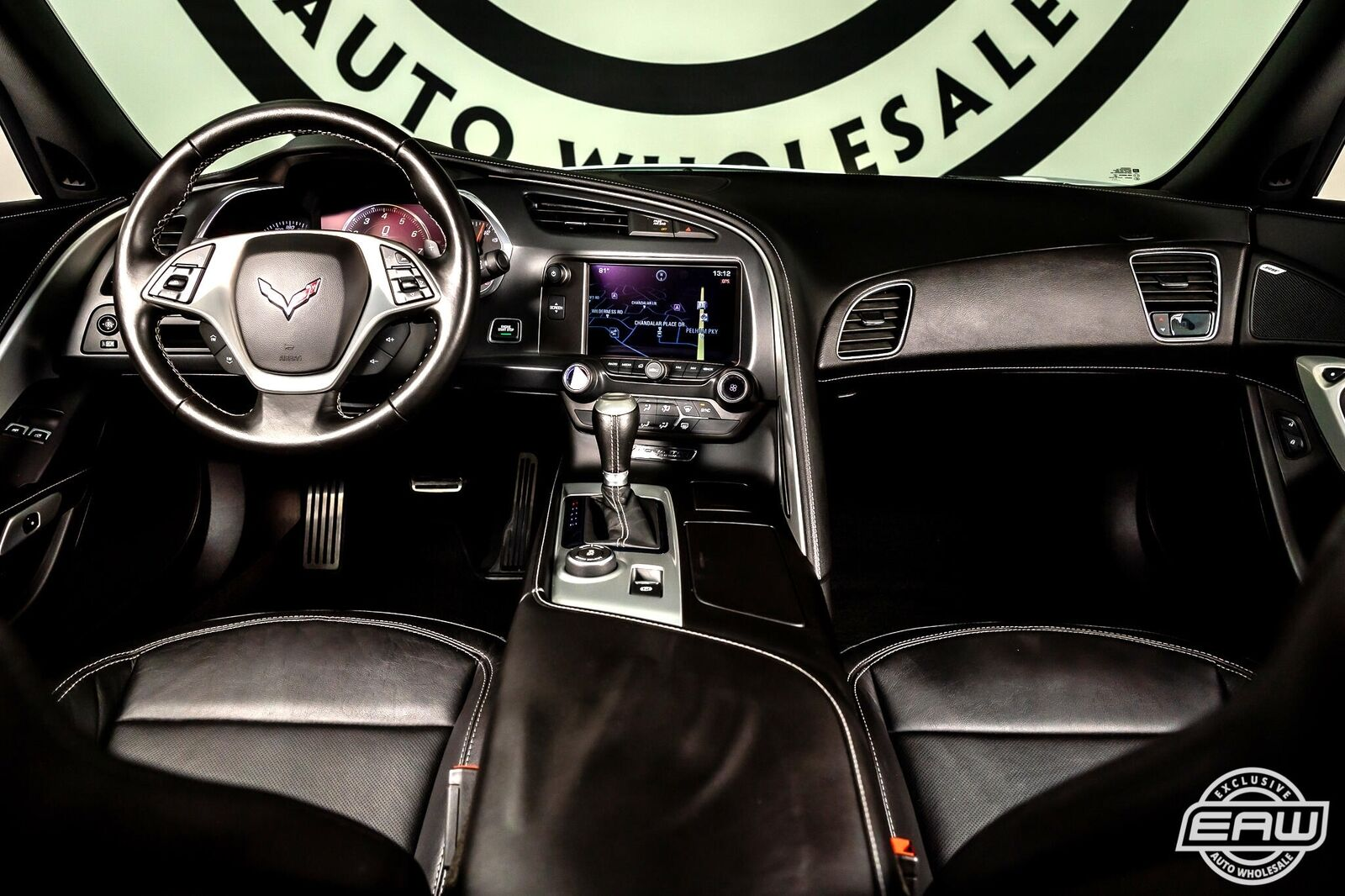 2014 White Chevrolet Corvette Coupe 1LT   C7 Corvette Photo 2