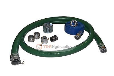 1-12 Green Water Suction Hose Honda Complete Kit W100 Blue Discharge Hose