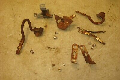 1962 Ford 2000 Tractor Hood Latches Hinges Springs Hardware 800