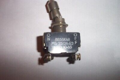 3 units Cutler Hammer//Eaton Toggle Switch 8869K1 MS90311-211