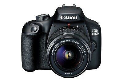 "Canon EOS 4000D 18-55mm 18mp 2.7"" DSLR Camera New Cod Agsbeagle"