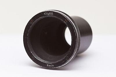 Kilfitt RECIN Adapter 39mm - alte Leica Objektiv - C Mount Kamera Nr.14 C-mount-kamera