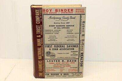 1959 Polk's City Directory POTTSTOWN & BOYERTOWN Pennsylvania, Genealogy