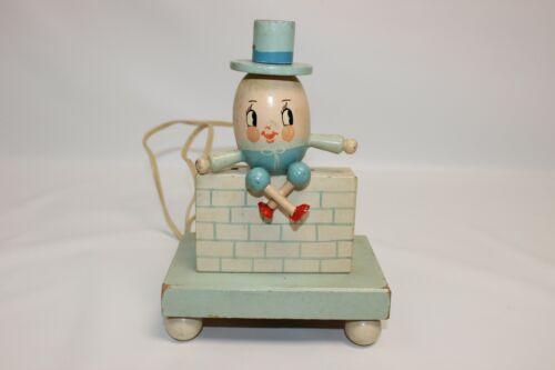 Vintage Underwriters Wooden Humpty Dumpty Nursery Child