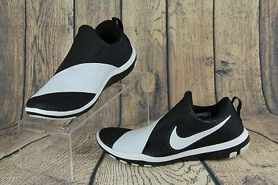 9dd8ecea04a1c Nike Wmns Free Connect Cross Training Shoes Sneaker Black White 843966-010  SZ 6