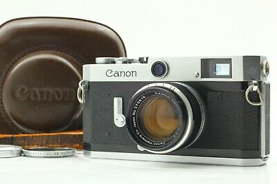 【 EXC+5  w/ CASE  】 Canon P Rangefinder Film Camera + 50mm f/1.8 Lens From JAPAN