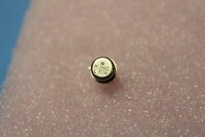 Unused Motorola Balanced Modulator/Demodulator Metal Can Gold 10 Pin MC1596G