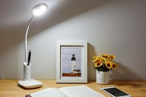 Desk Lamp Night Light Water Drop Shape Desk Lamp LED USB Charger Study