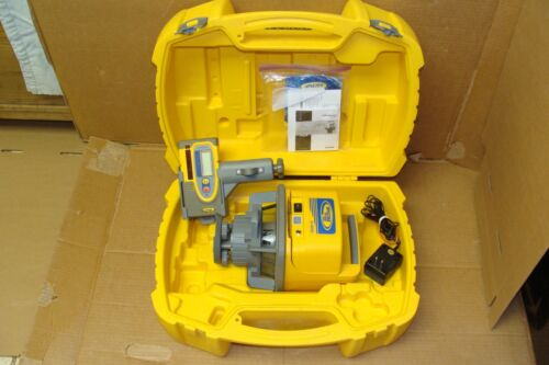 SPECTRA  LL500  PRECISION  LASER  LEVEL  WITH  HR550  RECEIVER