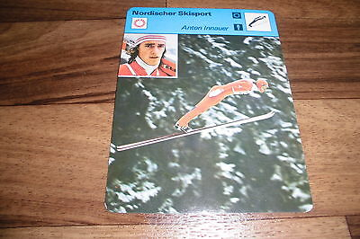 ANTON INNAUER / Nordischer Skisport -- Editions Rencontre S.A. Lausanne 1977