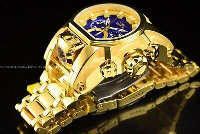 Usado, NEW Invicta Men 52mm Bolt Zeus MAGNUM 18K Gold Plated Chrono Dual Time SS Watch comprar usado  Enviando para Brazil