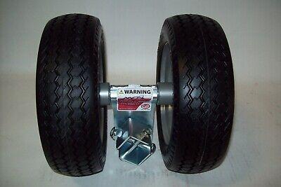 Bil Jax Trailer Jack Wheel Dual Wheel Fits 3522a 4527a 5533a By Croft Flat Free