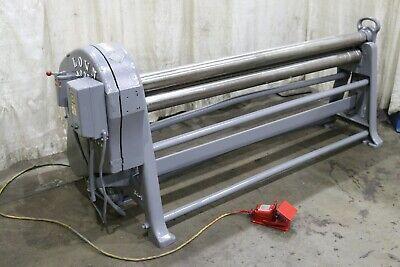 6 Lown Plate Bending Rolls Yoder 72490