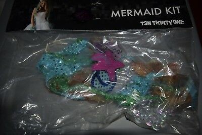 Mermaid Costume Kit Hot Topic - Headband necklace gloves Halloween Cosplay - Hot Topic Costumes