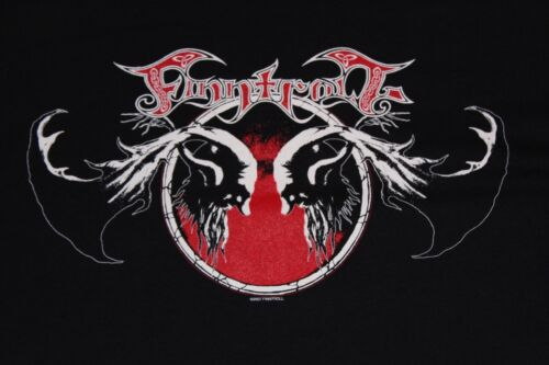 Rare Orig.2007~NEVER WORN~Finntrool Shirt amon amarth behemoth nile marduk opeth