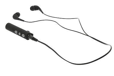 Bluetooth Stereo Headset In Ear Clip On Krawatten Mikrofon + Ohrhörer, Handy, PC Bluetooth Stereo Headset Clip
