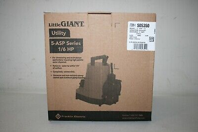 Little Giant 505350 16 Horsepower 5-asp-ll Water Wizard 5 Series Submersible