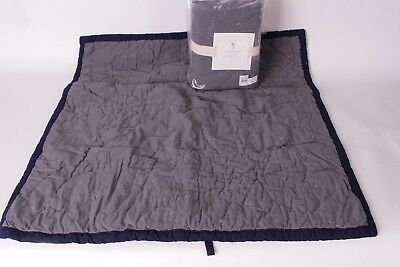 NWT Pottery Barn Kids Spiderman Cityscape quilted euro sham gray & navy