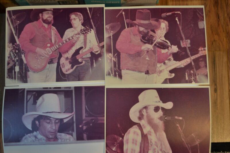 Charlie Daniels Band Pictures, 8X10, Late 70s, Early 80s