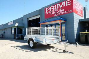 7x5ft Fully Hot-Dipped Galvanised Box Trailer with FREE 600mm Cage Wingfield Port Adelaide Area Preview