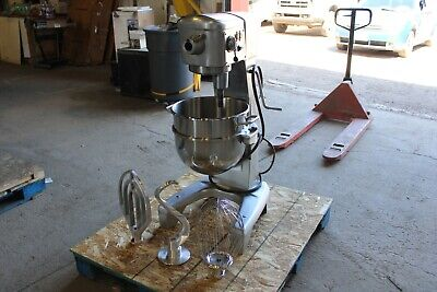 Hobart D300dt 30 Qt Quart Mixer New Bowl Whip Paddle Hook Bakery Usda Aluminum