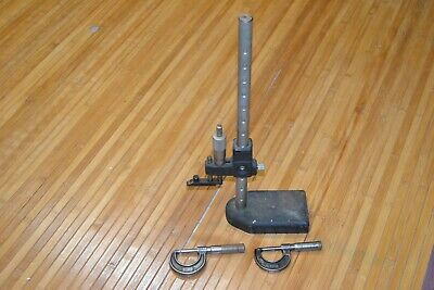 Mitutoyo Depth Gauge Micrometer 0-1 Lufkin 1911v Slocum Caliper Base Machinist