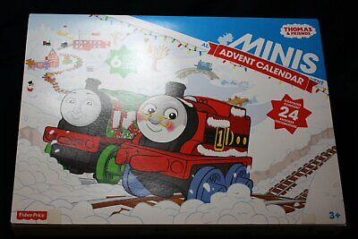 THOMAS AND FRIENDS MINIS TRAIN ADVENT CHRISTMAS CALENDAR 2015 NEW FISHER PRICE