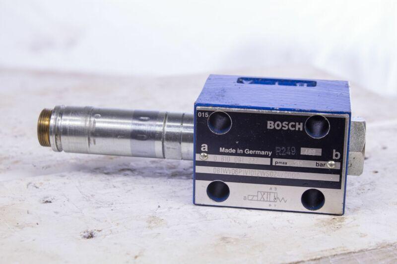 Bosch Rexroth 0 810 091 227 Directional Control Valve 0810091227 no coil