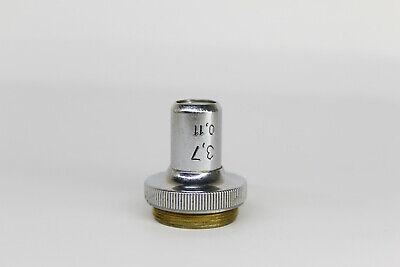Lomo Microscope Objective 37x 011 Macro Photo Lens Macrophotography 3