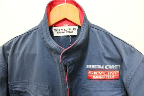 Rare JDM NISSAN Skyline Racing Team Mechanic Work Suit Overall Coverall ,Medium