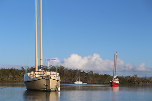 34ft Bedford dory badger junk rig liveaboard travel the world new Beachmere Caboolture Area Preview