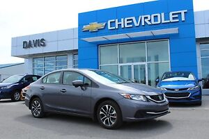 2015 Honda Civic LX PUSH BUTTON START, ECO MODE, USB