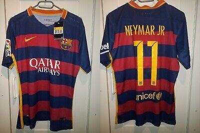 BARCELONA FC 2015/2016 HOME FOOTBALL SHIRT JERSEY SPAIN image