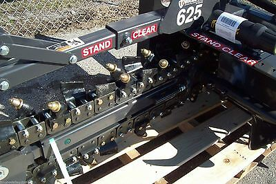 Bradco 625 Skid Steer Trencher36depth6 Width5050 Rock-frost Teeth In Stock