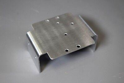 Aluminum Lower Chassis Plate Brace Bracket for Tamiya 1/10 Bullhead Clodbuster