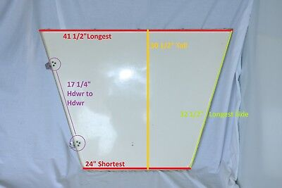 2003 Scout 18 CC Bow Forward Deck Storage Hatch Cover Fiberglass Door Hinge (Hatch Cover Bow)