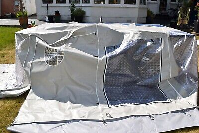 Isabella tall awning 250 Annex extension with metal poles. Used once.