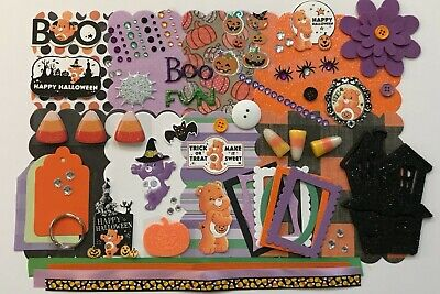 Care Bears Halloween Custom Chipboard Mini Book Album - Care Bears Halloween