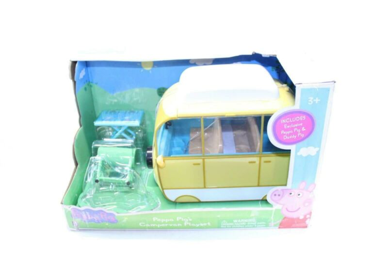 Peppa Pig Family Camper Van Large Vehicle Missing Figurines