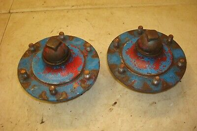 1954 Ford 860 Tractor Front Hubs 600 800