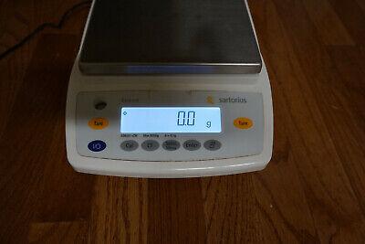 Sartorius Digital Lab Scale Balance Analytical Ed8201-cw 10 Mg 8200g Extend