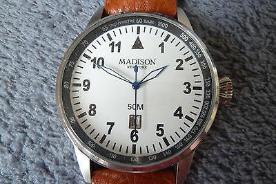 acc4db2e3e Купить MADISON NEW YORK Uhr Armbanduhr Leder, NEU на eBay.de из ...