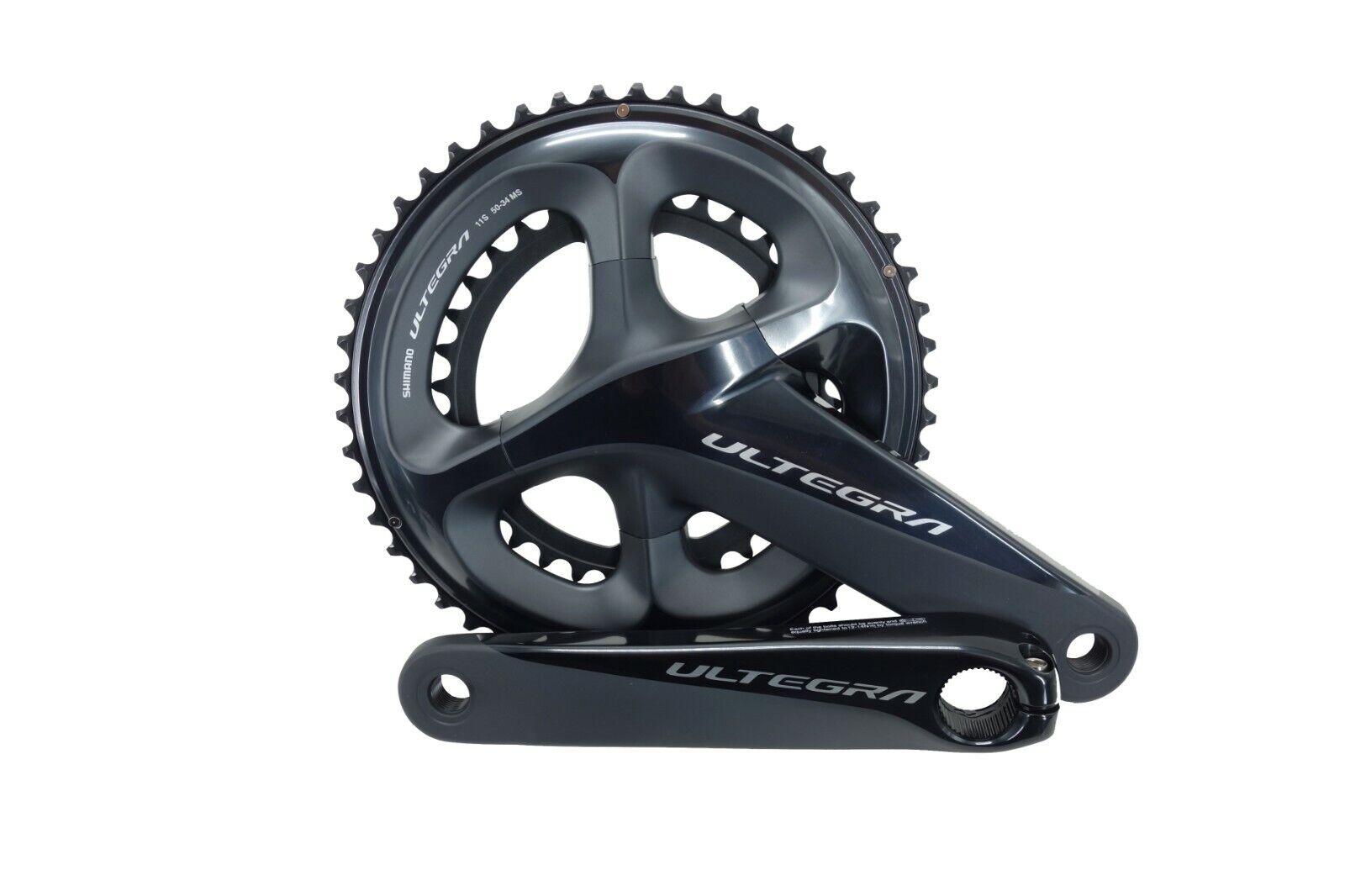 Shimano Ultegra 2x11-speed Road TT Bike Crankset FC-R8000 52//36 175mm