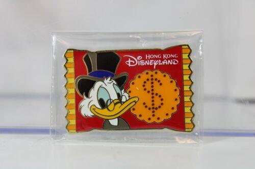 B2 Disney HKDL Hong Kong Disneyland Pin Trading Carnival Scrooge Snack Candy