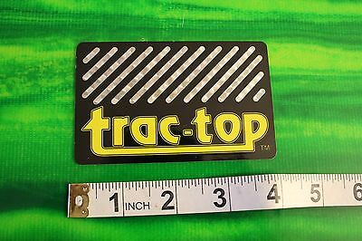 Trac-Top Traction pad 80's Neon SMALL HIGH END Vintage Surfing Decal (Trac Traction Pads)