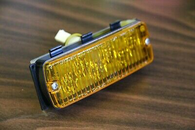 Whelen Tir6 Amber 6 Led Lighthead Wwaterproof Plug Passive Steady Burn