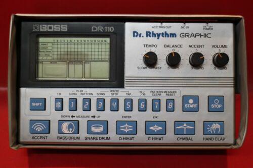 USED BOSS DR-110 Dr.Rhythm DR 110 Drum Machine Sequencer w/org.case U1174 210304