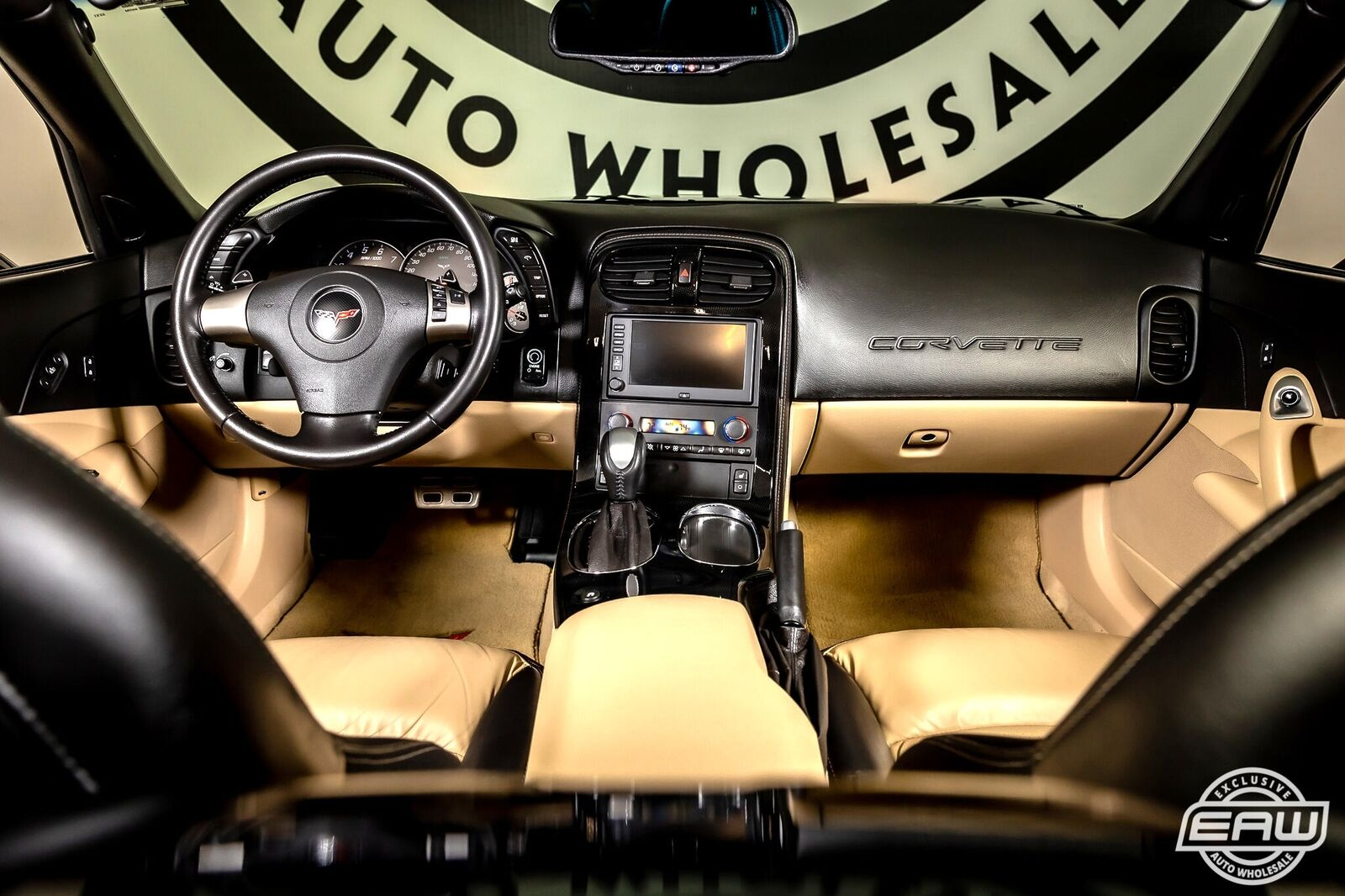 2008 Black Chevrolet Corvette Convertible  | C6 Corvette Photo 3