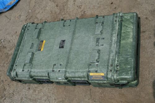"43"" x 22.5"" x 8.5"" Pelican Hardigg Military Heavy Duty Hard Plastic Cases"